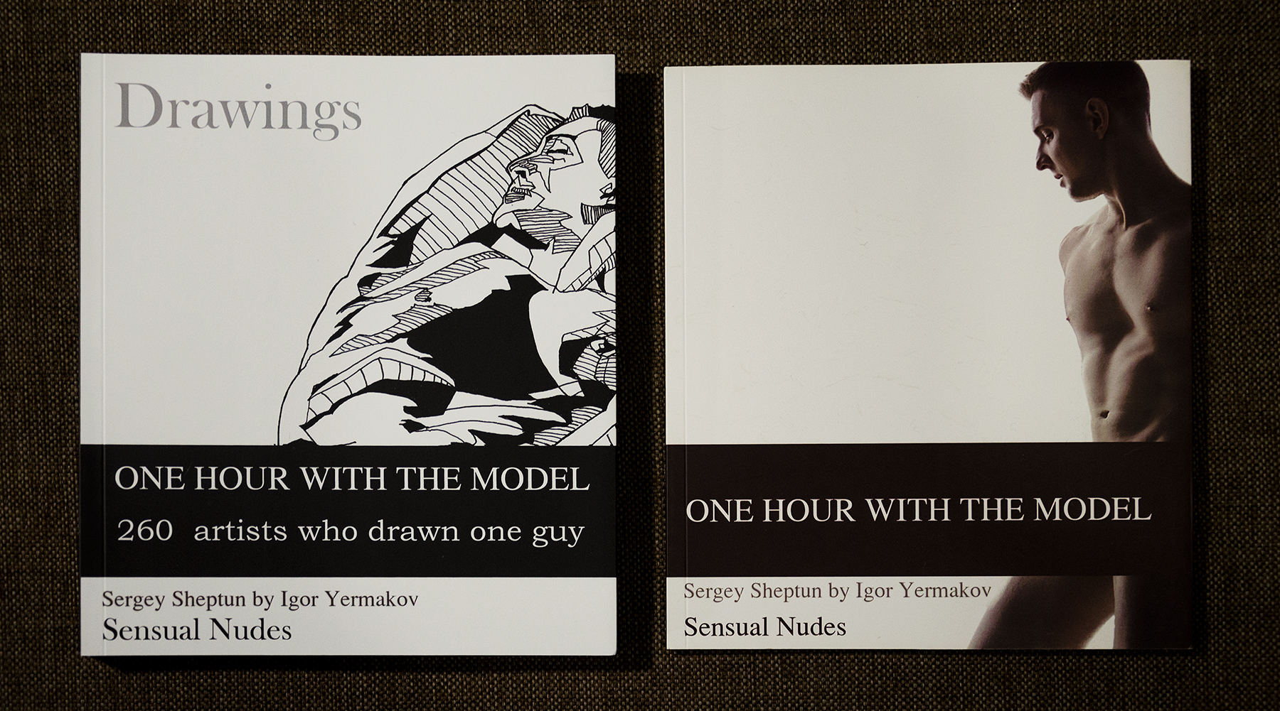 Set Of 2 Volumes, Gay Photo Art And Queer Art.
